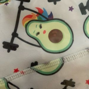 Other - Avocado booty workout shorts
